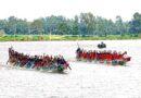 সানন্দবাড়ী জিঞ্জিরাম নদীতে নৌকাবাইচের চূড়ান্ত পর্বের খেলা অনুষ্ঠিত