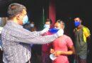 মাস্ক পরাতে মাঠে নামলেন জামালপুরের জেলা প্রশাসক এনামুল হক