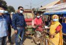 মাস্ক ব্যবহারকারীদের শুভেচ্ছা জানালেন বকশীগঞ্জের ইউএনও